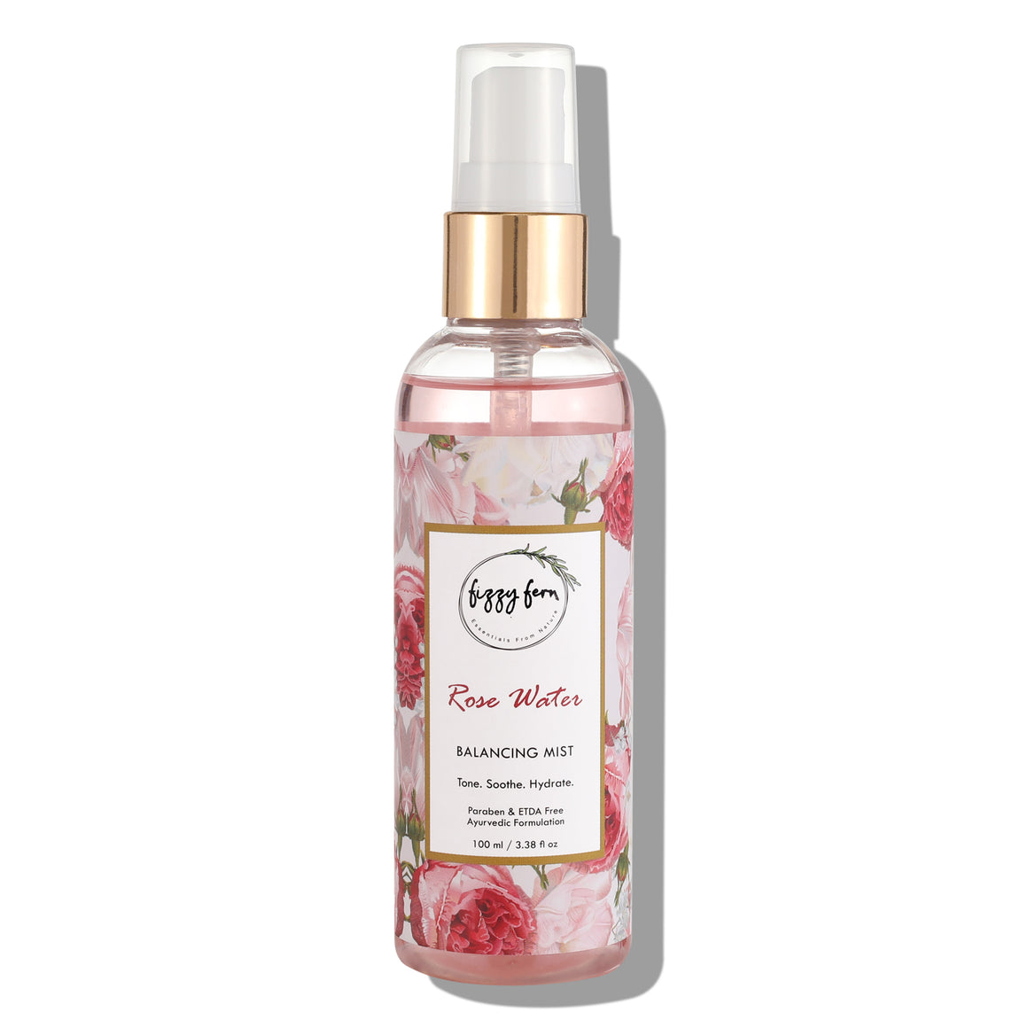 Rose Water Balancing Mist with Cardamom & Aloe Vera