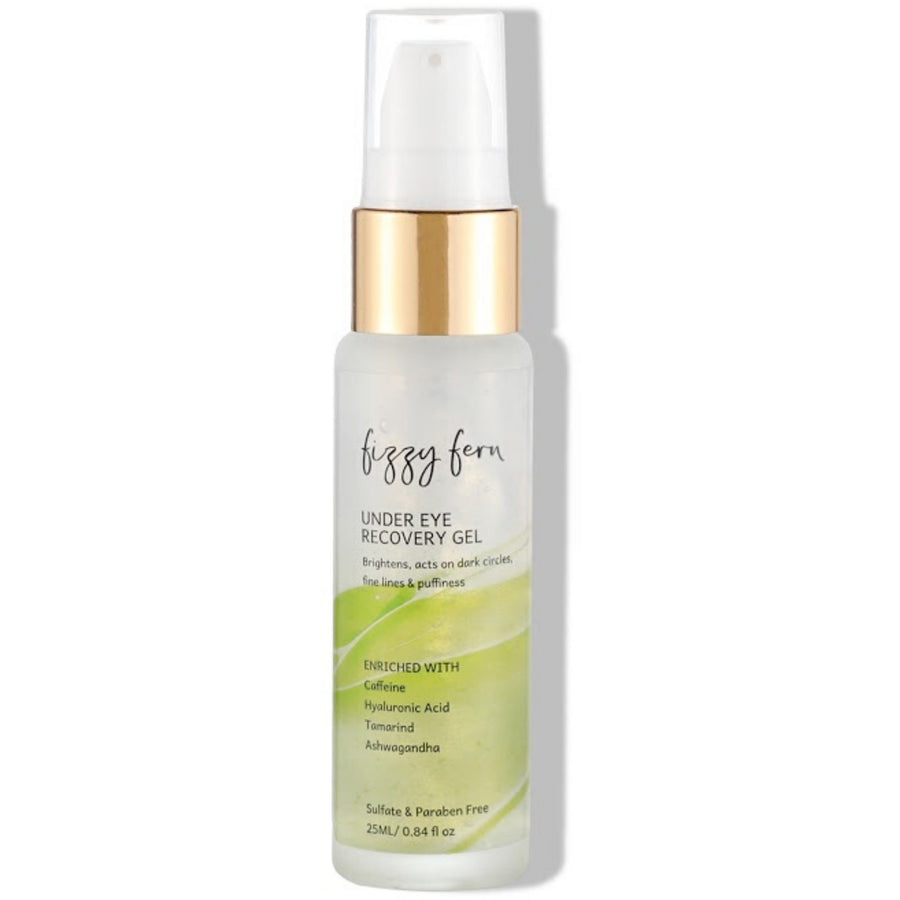 Under Eye Recovery Gel with Caffeine, Hyaluronic Acid & Ashwagandha
