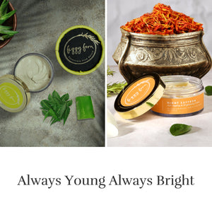Instant Illumination Face Glow Pack & Anti Ageing-Brightening Cream with Bio Retinol
