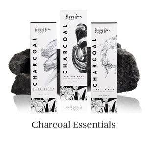 Charcoal Peel Off Mask, Face Wash and Face Scrub