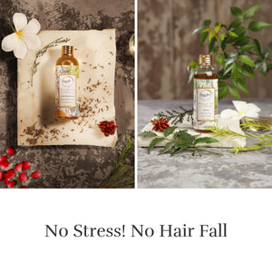 Indian Gooseberry & Ginseng Body Massage Oil and Bhringraj, Neem Shikakai Hair Oil