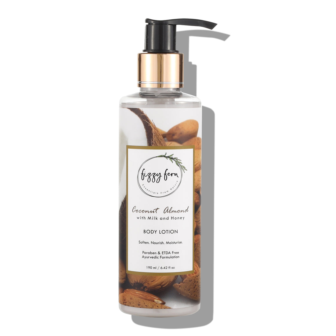 Coconut Almond Body Lotion, with Milk & Honey