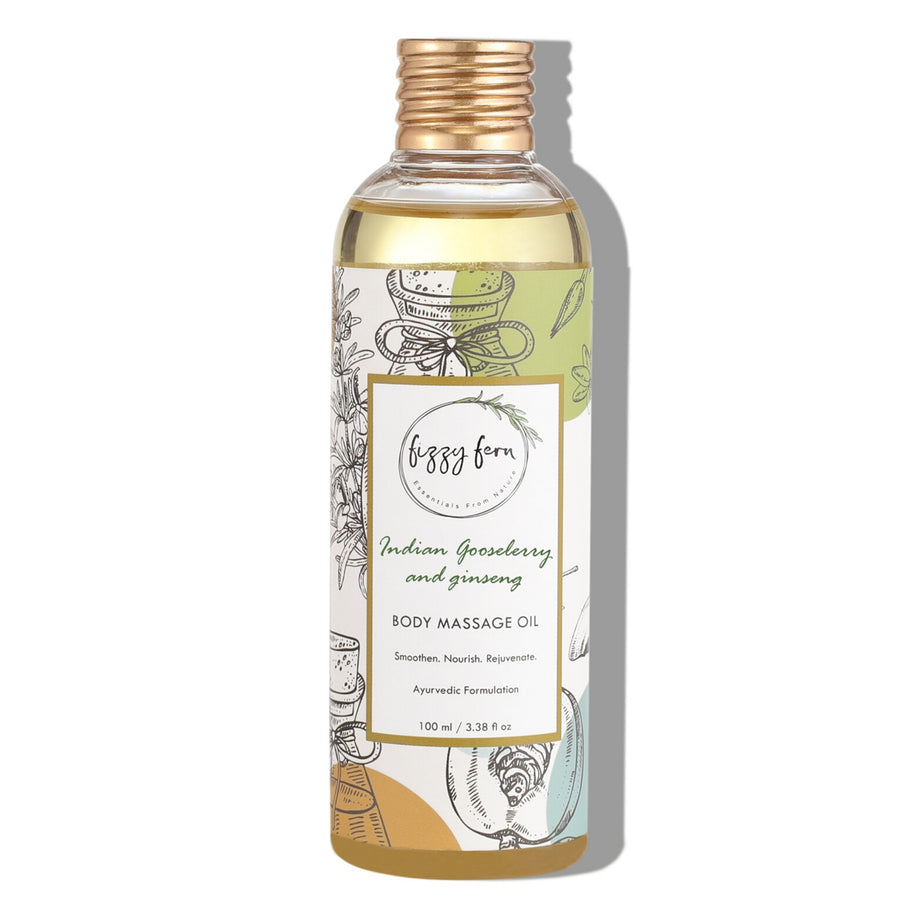 Indian Gooseberry & Ginseng Body Massage Oil