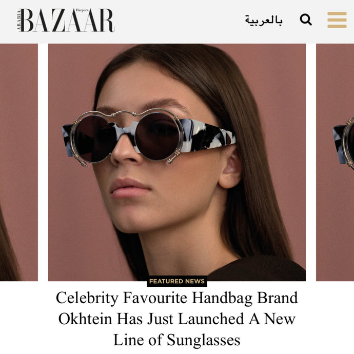Okhtein's feature on Harper's Bazaar