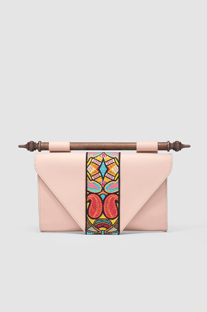 Okhtulum Clutch Leather Rose