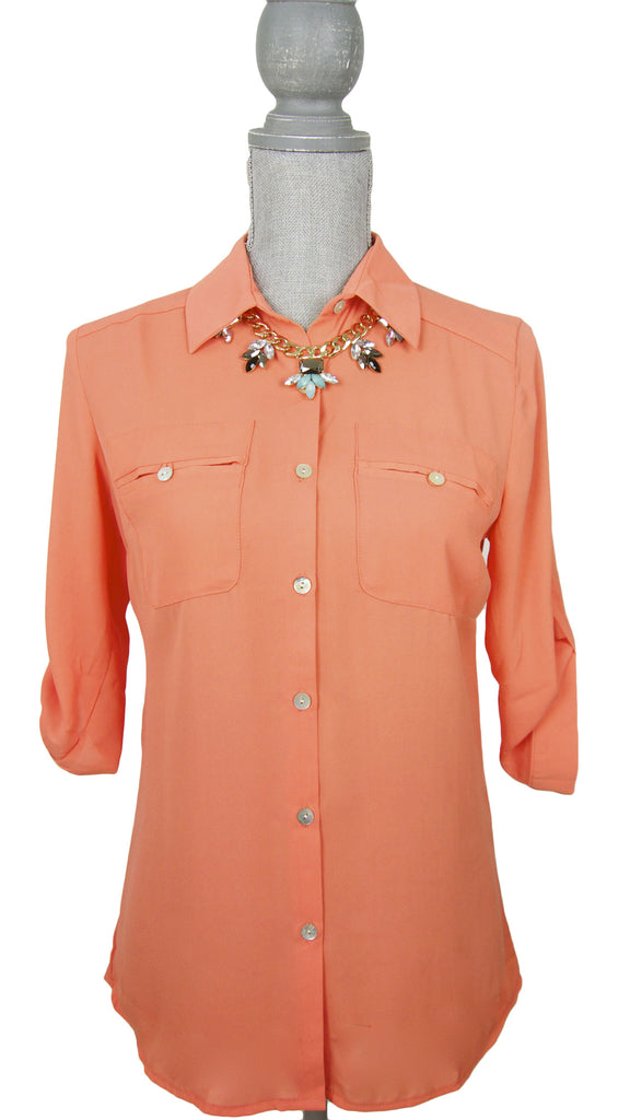 Stay 'till Sunset Top- Orange