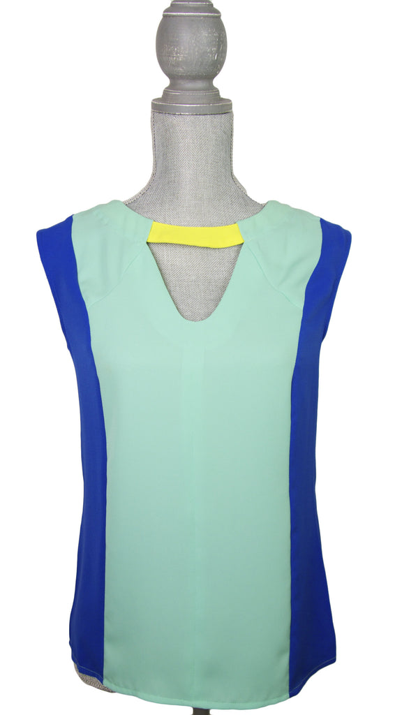 Colorblock Tunic Tank