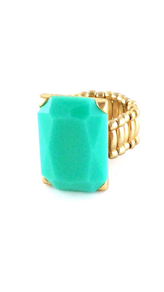 Rock it Ring- Turquoise