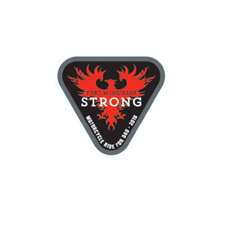 "Fort McMurray Strong 2"" Decal"