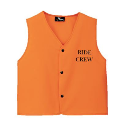 Ride Crew Volunteer Vest