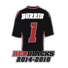 Burris Commemorative Jersey Pin