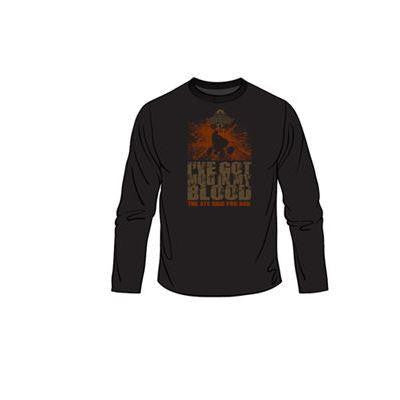 MUD IN MY BLOOD LONG SLEEVE T-SHIRTS