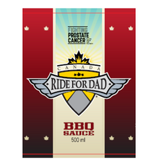 Ride for Dad II BBQ Sauce
