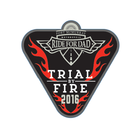 "Fort McMurray Trial by Fire 4"" Decal"