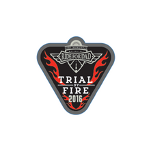 "Fort McMurray Trial By Fire 2"" Decal"