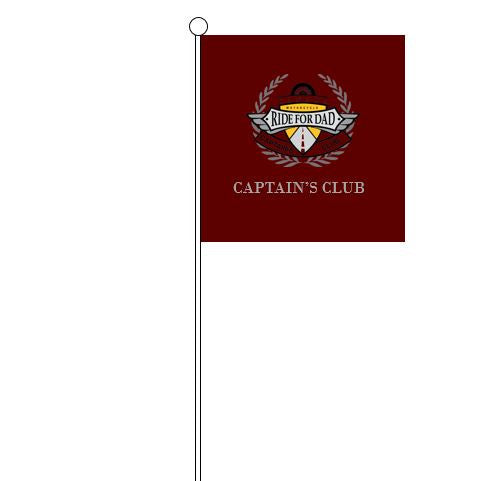 Captain's Club Motorcycle Flag