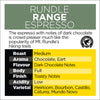 Rundle Range Espresso – Certified Rainforest Alliance