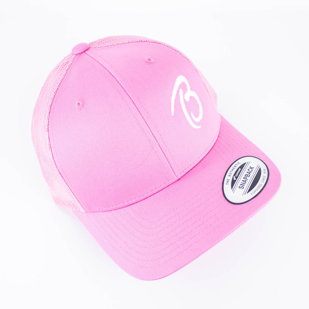 Trucker Hat - Breast Cancer Awareness - Beamer's Coffee