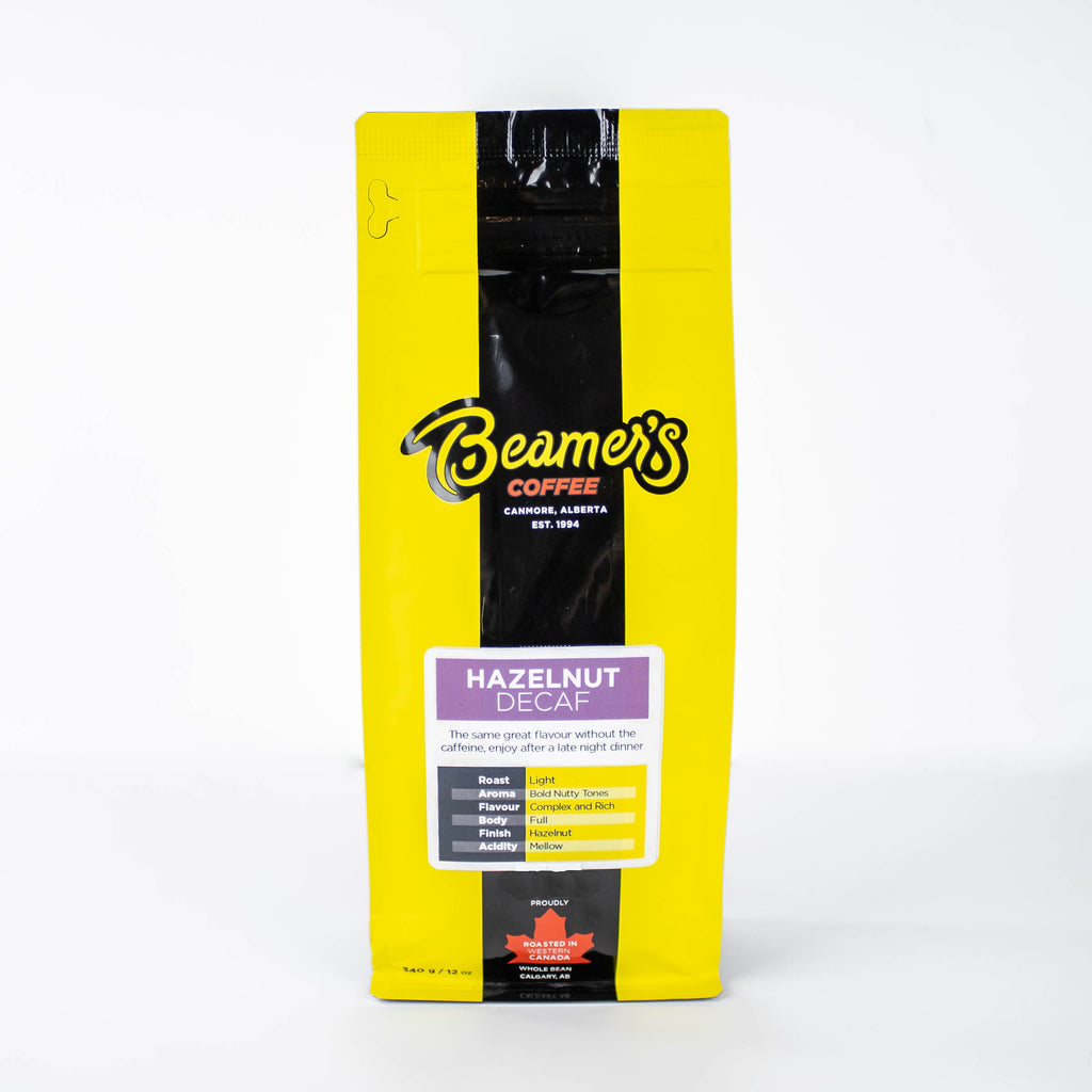 Hazelnut Decaf (340g) - Beamer's Coffee