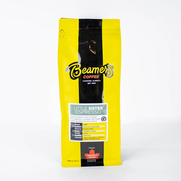 Little Sister Espresso – Certified Rainforest Alliance (340g) - Beamer's Coffee