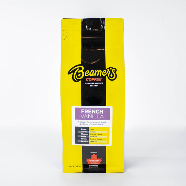 French Vanilla (340g) - Beamer's Coffee