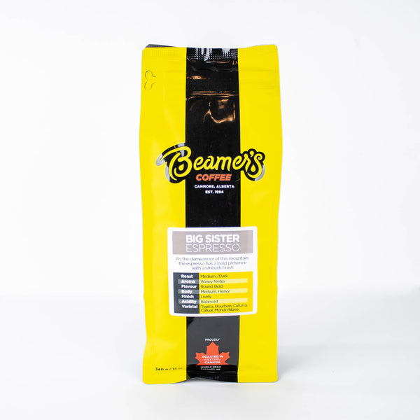 Big Sister Espresso (340g) - Beamer's Coffee