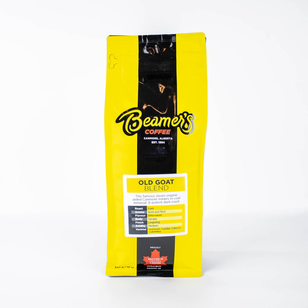 Old Goat Blend (340g) - Beamer's Coffee