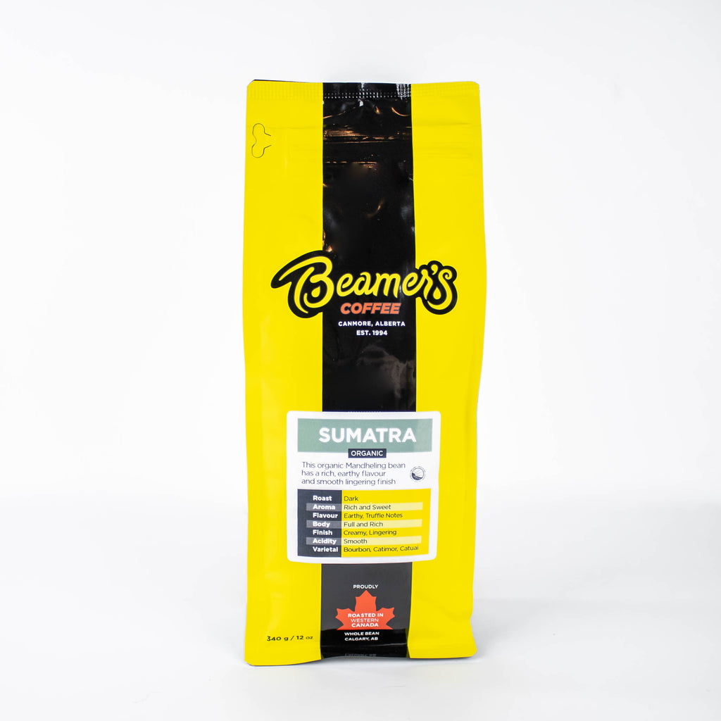 Sumatra – Certified Organic (340g) - Beamer's Coffee