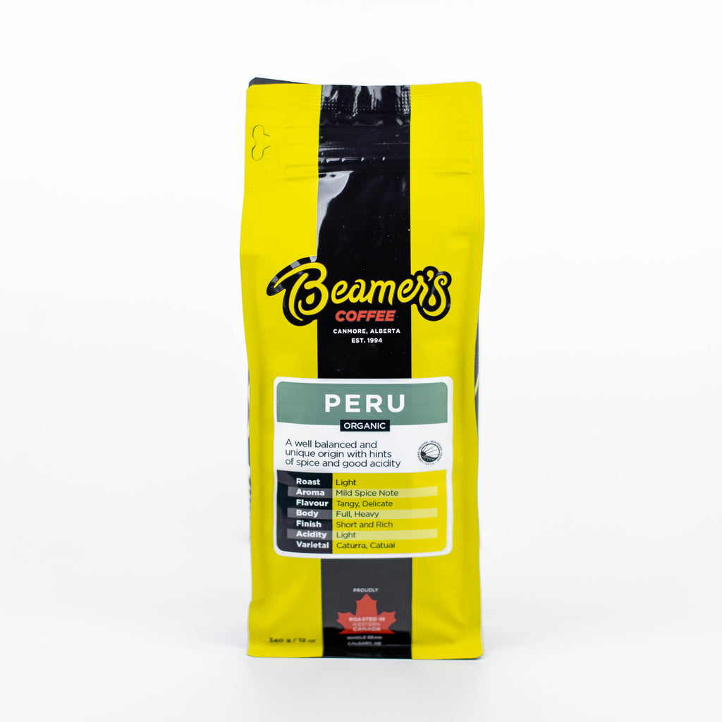 Peru Andes Gold – Certified Organic (340g) - Beamer's Coffee