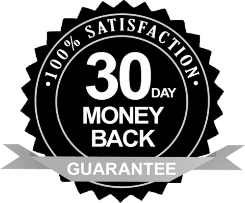 30 day money back 100% satisfaction