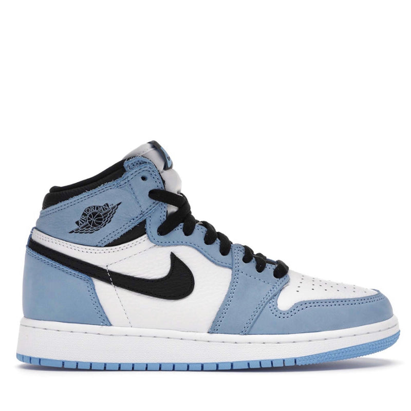 Jordan 1 Retro High White University Blue Black (GS) - True North Sole Streetwear