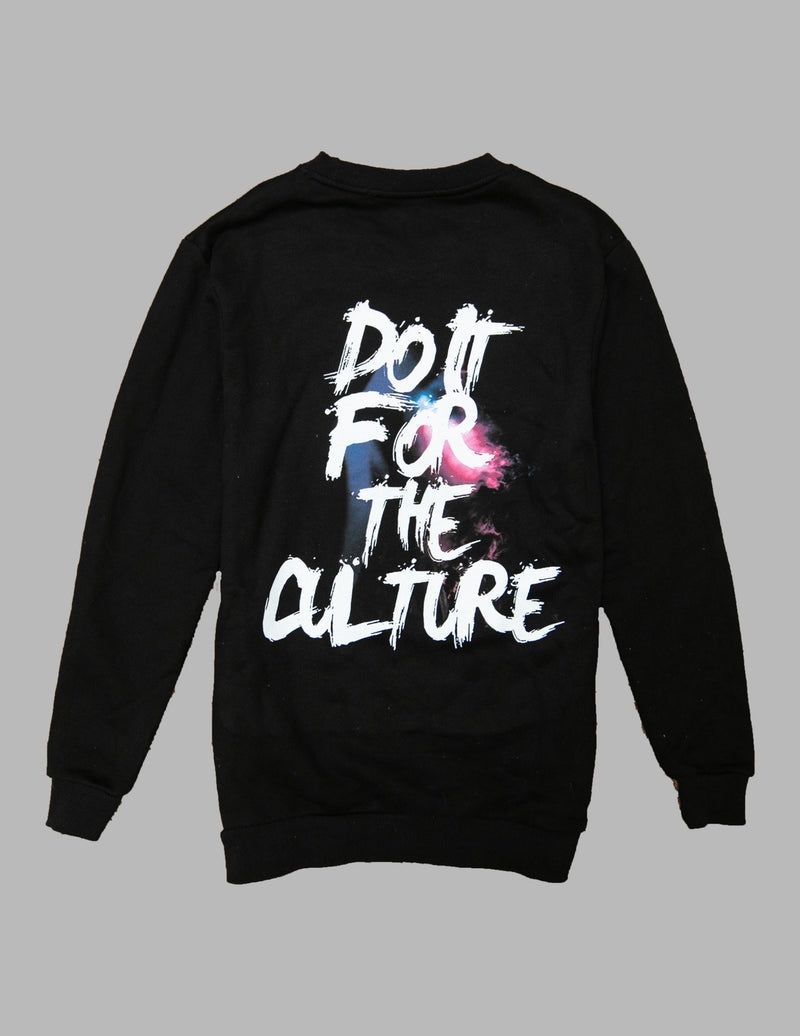 Galaxy Black Crewneck DIFTC - True North Sole Streetwear