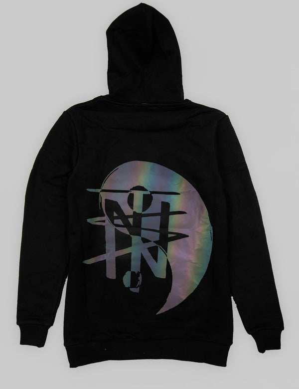 3M Reflective Hoodie Yin Yang - True North Sole Streetwear