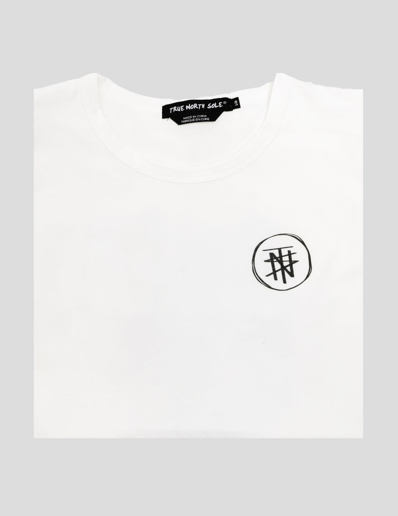 Galaxy White T-Shirt DIFTC - True North Sole Streetwear