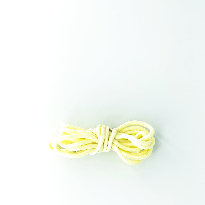 CREAM GLOW IN THE DARK ROPE LACES - True North Sole Streetwear