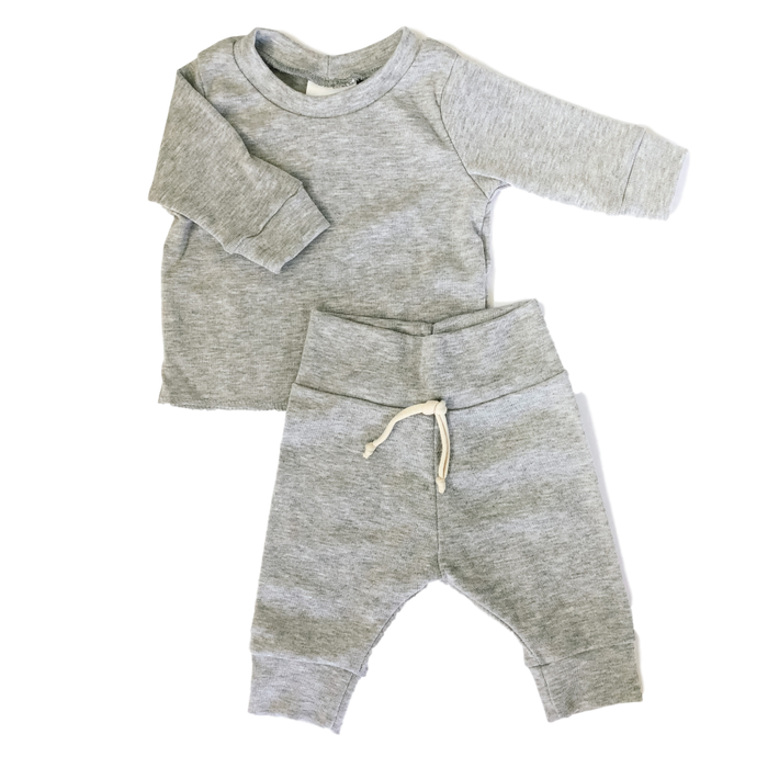 Light Super Soft Grey Sweatsuit