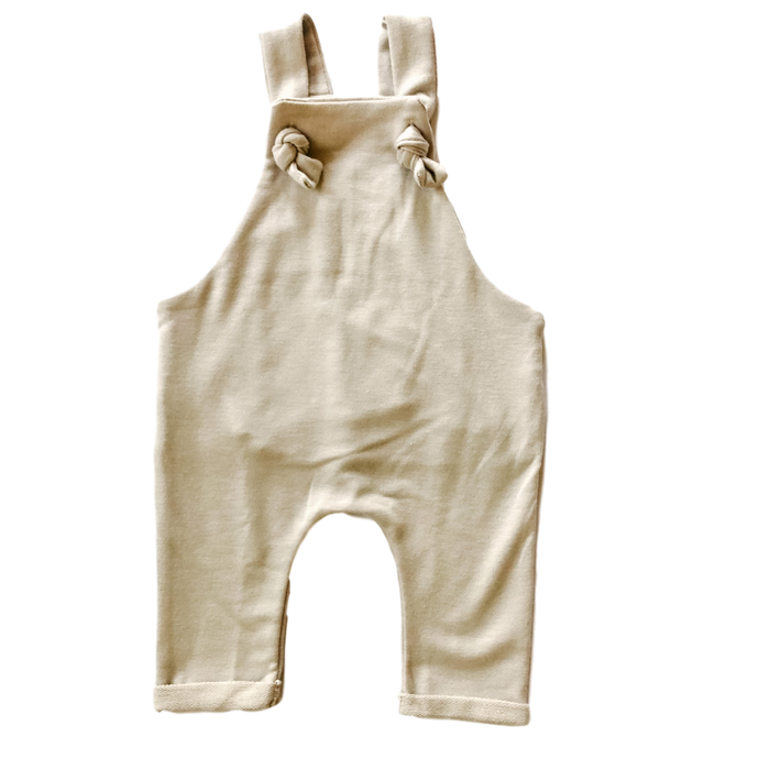 Super Soft Oatmeal Overalls
