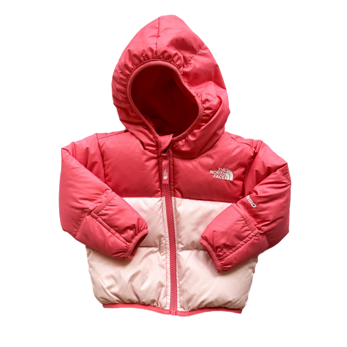 Reversible Pink Down Jacket