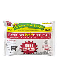 Jamaican Style Beef Patty