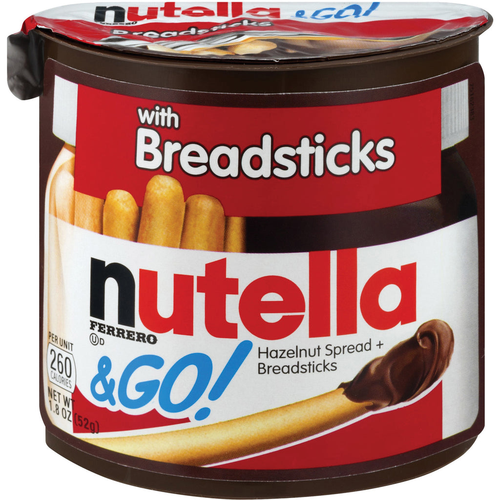 Nutella w/Breadsticks