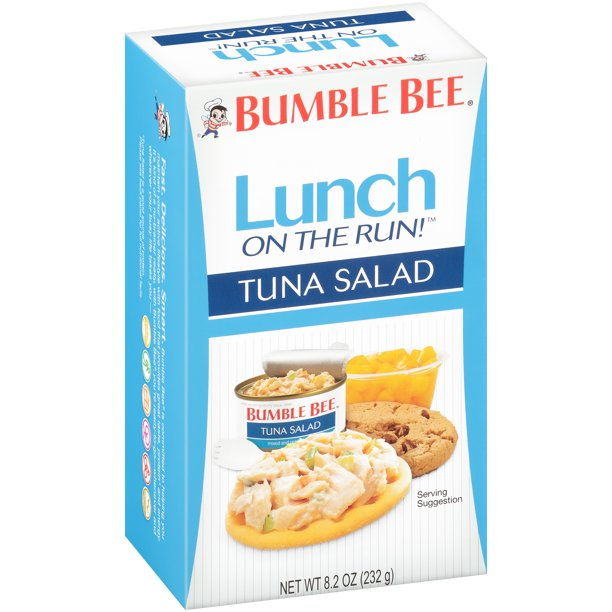 Tuna or Chicken Salad Kit w/Crackers
