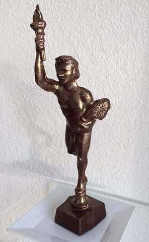 Chocolate Golden Boy | 14'' Statue en Chocolat du Golden Boy