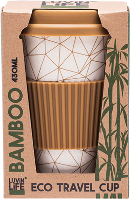 LUVIN LIFE Bamboo Travel Cup 430ml