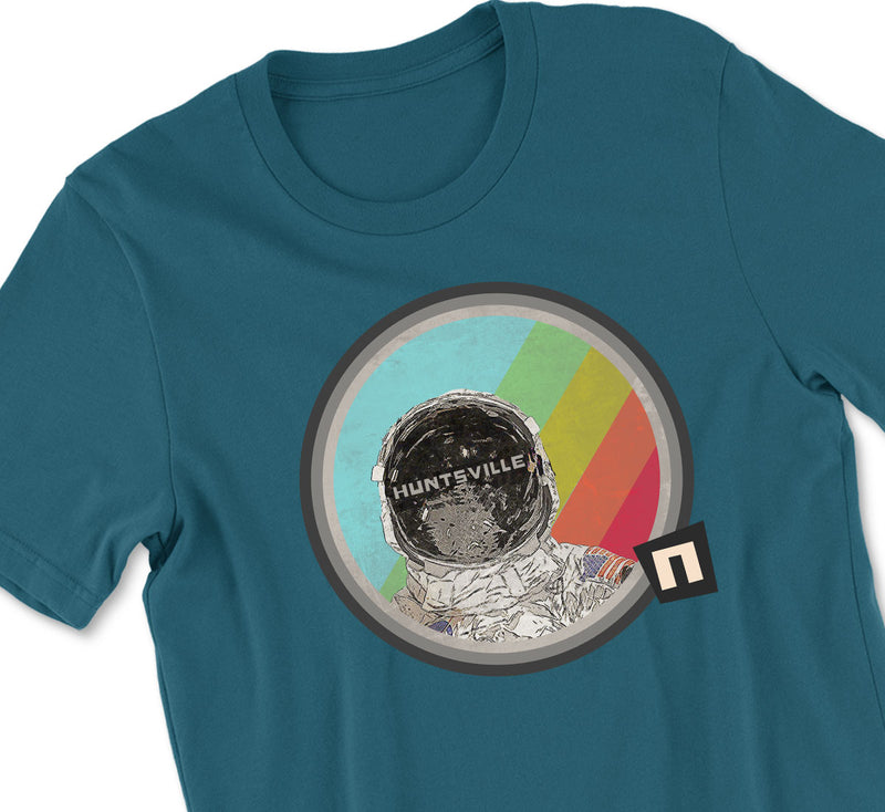 Striped Astronaut Tshirt