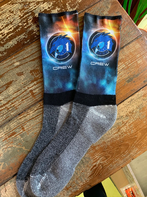 NASA Dragon 'Crew 1' - Hiking Socks