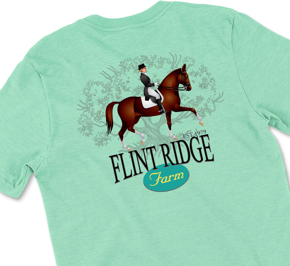 Flint Ridge Farm Dressage Tshirt