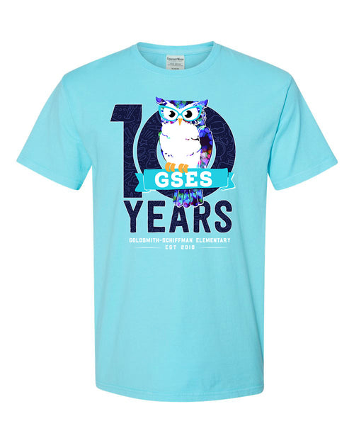 ADULT - GSES 10th Anniversary Tshirt