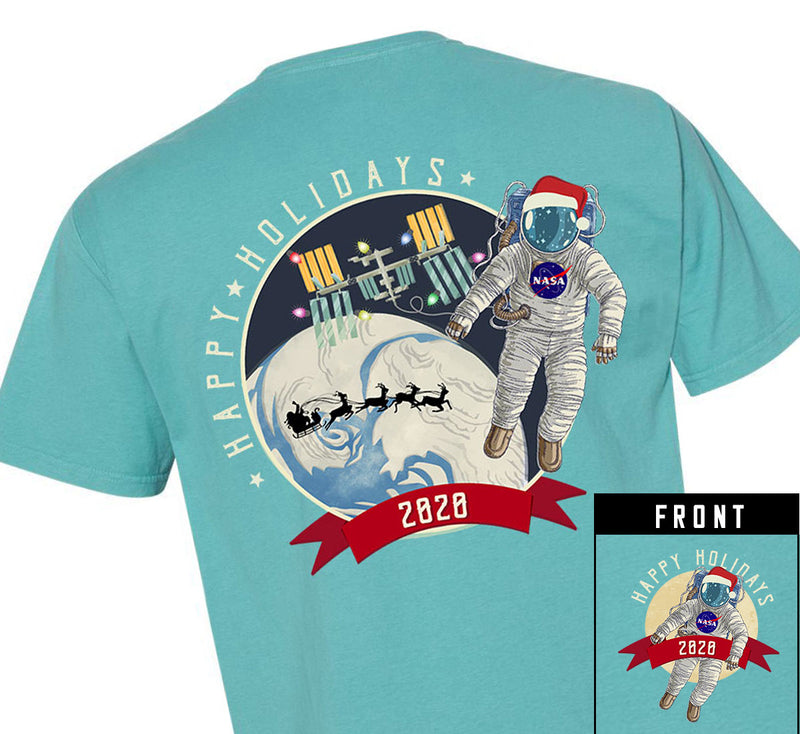 """NASA 2020 Holiday"" Short Sleeve Tshirt - Youth"