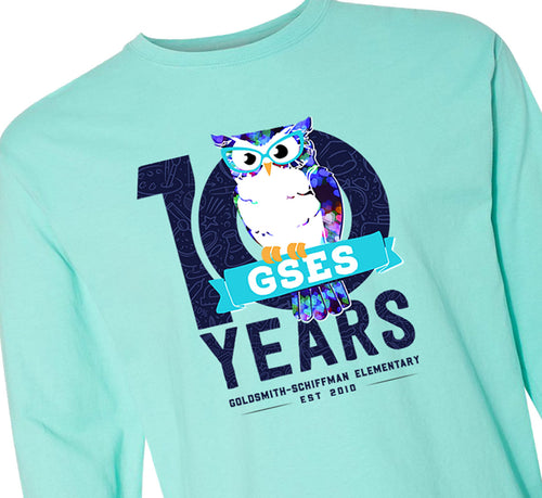 ADULT - GSES 10th Anniversary Long Sleeve Tshirt