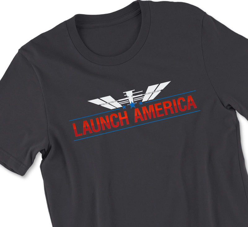 NASA Launch America Tshirt - ISS